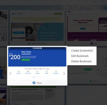 Cloud Bookmarks™ Screenshots